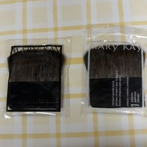 Lot of 2 Mary Kay compact powder brush